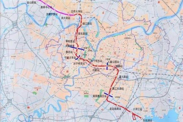 轨道交通三线建设都有新进展 4号线江北段实现洞通