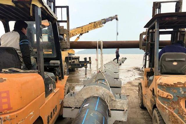 象山海底铺设供水管道解决供水短缺 海岛将实现联网供水