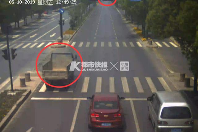 急着赴约打麻将 杭州一男子醉酒开着拖拉机闯红灯