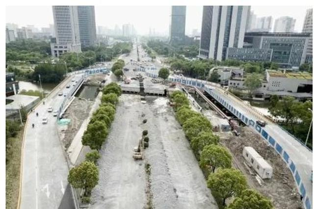 宁波鄞县大道全面进入拆复桥工程阶段 附绕行提醒