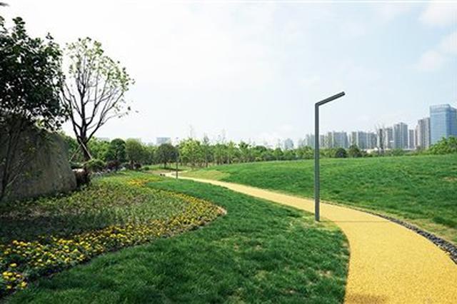 宁波北仑区文化公园开园 绿地公园正式投入使用