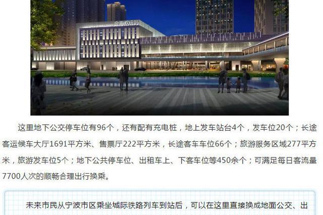 奉化交通枢纽综合体投入使用 建设全新城区门户