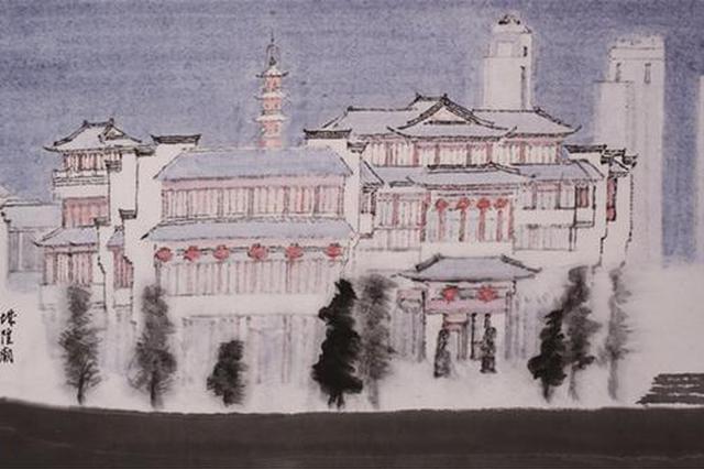 宁波书画名家作品展举行 100余幅精品献礼祖国70华诞