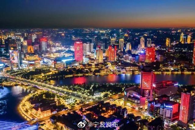 国家博览会即将开幕 三江口主题灯光秀展示夜景之美