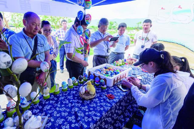 第七届象山白鹅节重要活动白鹅文化体验活动举行