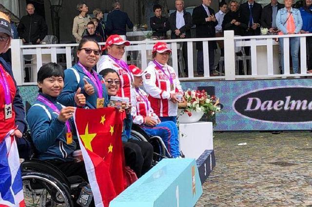奉化射箭运动员周佳敏夺金 获得东京残奥会参赛席位
