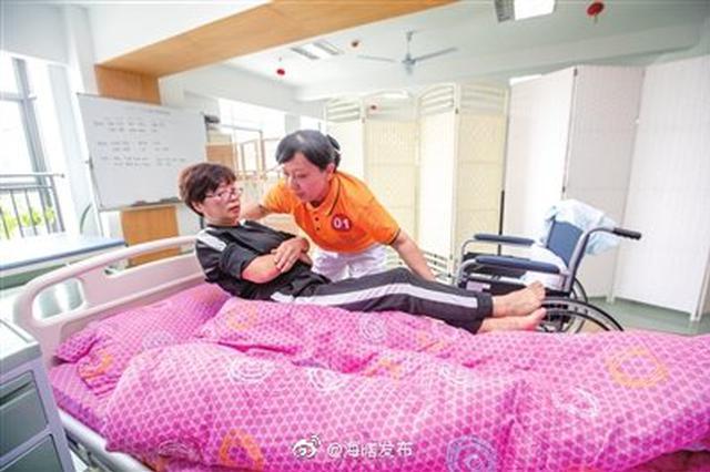 海曙养老护理技能大赛举行 竞赛选手将参加市级竞赛