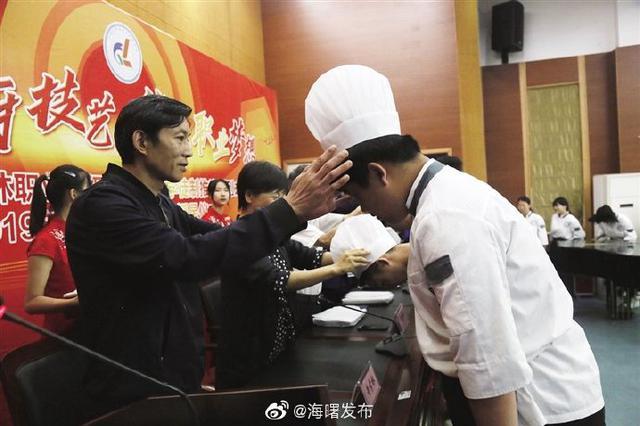 宁波古林职高举行烹饪专业授帽仪式 职高学子成大厨