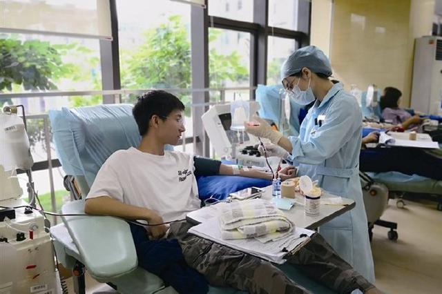 积极响应世界献血日号召 象山医者组织献热血