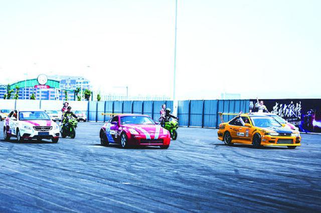 阿拉的海首场中国CAR秀演出 拉开今年的开园序幕