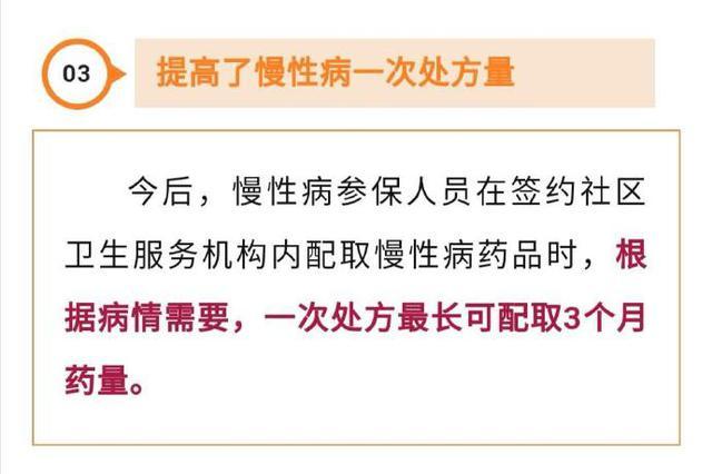宁波出医保新政 慢性病一次最多可配3个月药量