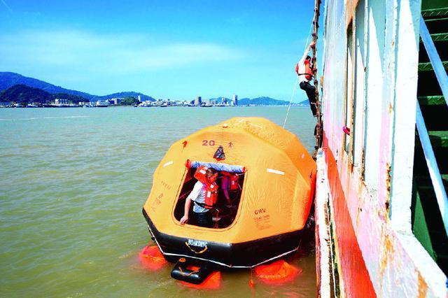 宁波石浦港展开水上客?#21496;?#25588;演练 提高突发应急能力