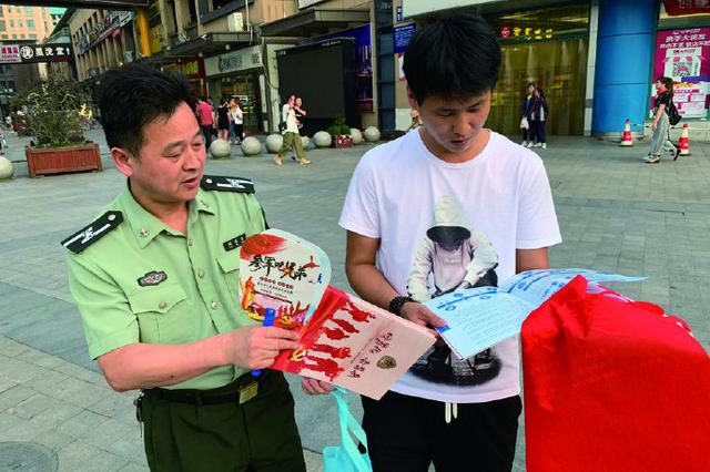象山掀起征兵宣传热潮 激励有志青年投身部队建设