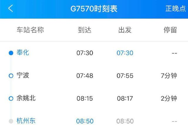 7月奉化火车站增?#37038;?#21457;终到列车 往来杭州更方便
