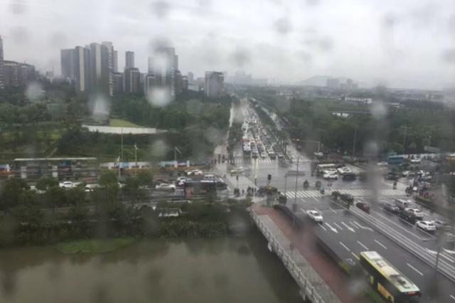 寧波未來十天以陣雨天氣為主 需防強降雨所致的災害