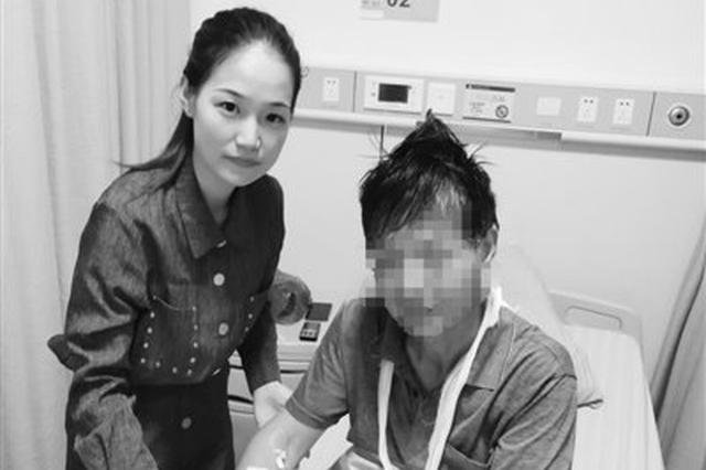 寧波車禍現場傷者動彈不得 護士路過進行緊急救護