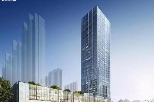 寧波奉化未來第一高樓 約180米高位于南山路老城中心