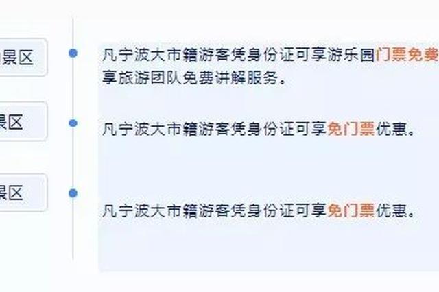 王陽明當過縣令的那個地方 寧波人可以免費玩兩個月