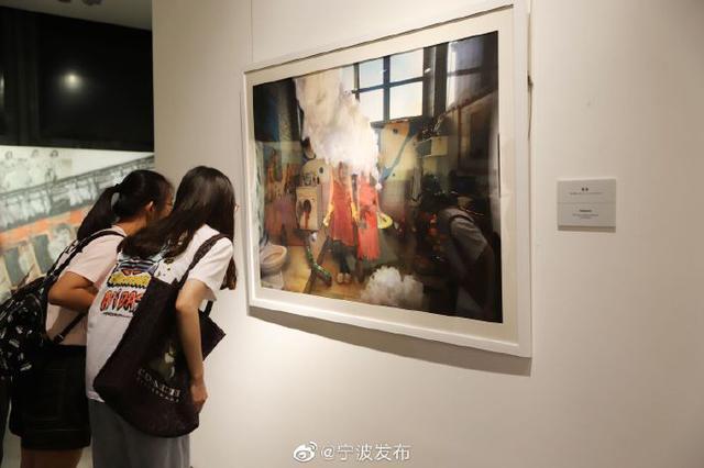 中国当代女性艺术世界巡展宁波站 展出多位名家作品