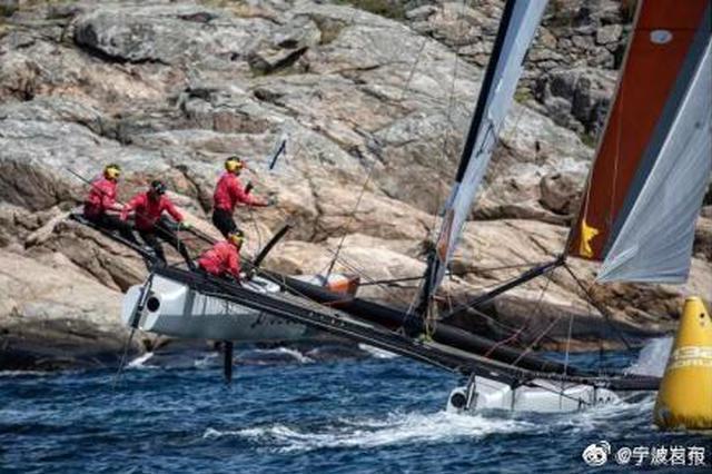 菲尔率中国宁波一号帆船队再次斩获世界巡回赛冠军