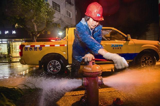 象山城区供水管网全面冲洗 确保夏季居民用水安全