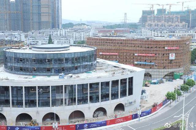 奉化城市文化中心有望11月初开放 配套功能齐全