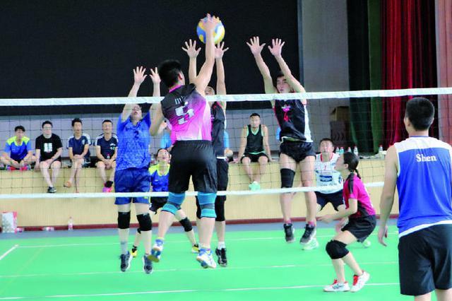 象山县职工气排球赛盛大举行 县教育代表队夺冠