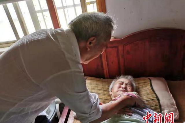 甬1八旬老人照顾瘫痪妻子24年 金婚55载从相知到相守