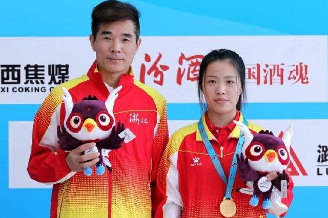 全国青年运动会 宁波体校19岁射击选手杨倩夺冠