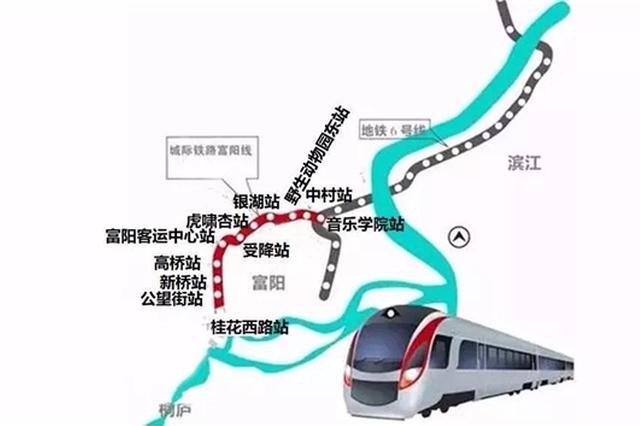 杭富城际铁路新进展 预计明年年底建成通车