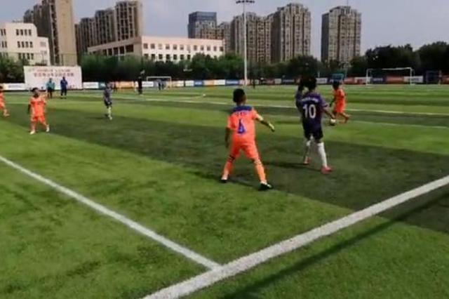 全国青少年足球精英北仑会战 吸引百名运动员参赛