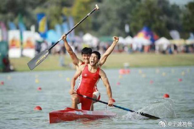 宁波选手夺皮划艇世锦赛中国历史首金 国歌首次响起