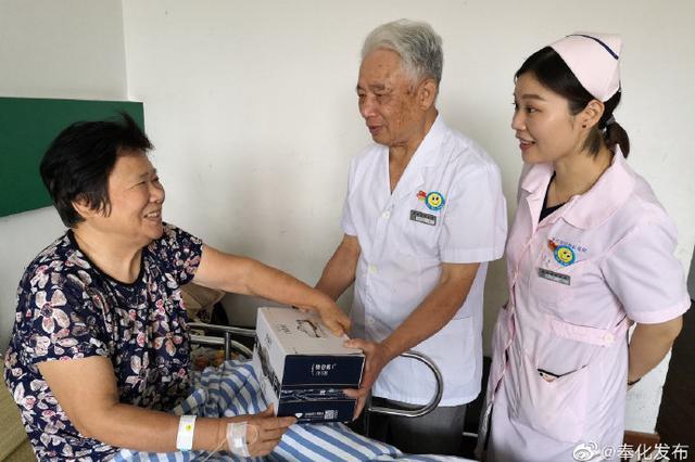 教师住院有特别慰问 奉化1家医院坚持11年送尊师礼