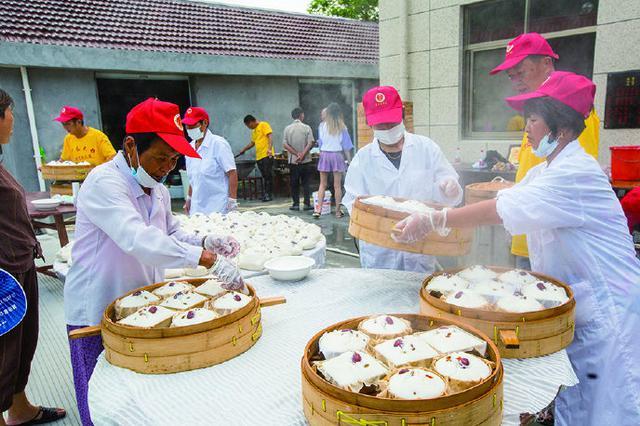 象山墙头镇第三届亭岙大糕文化节在亭岙村如期举行