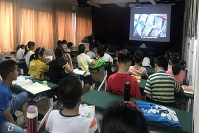北仑小港竺山社区:珍惜青春拒绝毒品
