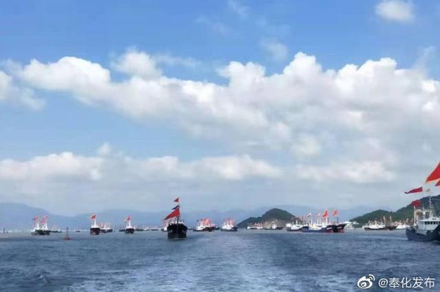 今日东海已全面开渔 奉化710艘外海渔船奔赴渔场