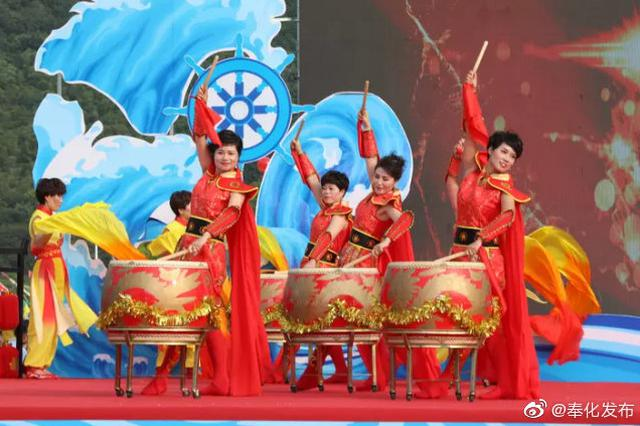 开渔庆丰收2019奉化开渔节 在莼湖街道桐照村举行