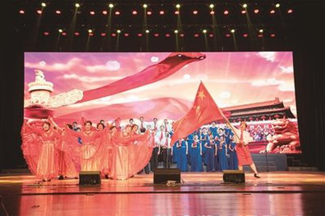 海曙举行群众合唱决赛颁奖晚会 37组歌手礼赞新中国