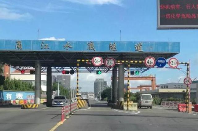 甬江隧道维修工程10月9日起改造 交通管制信息公布