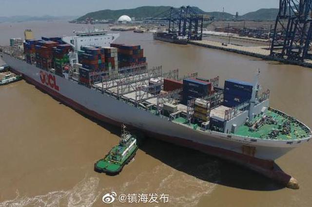 宁波港域拖轮助泊量创新高 今年已同比增长177%