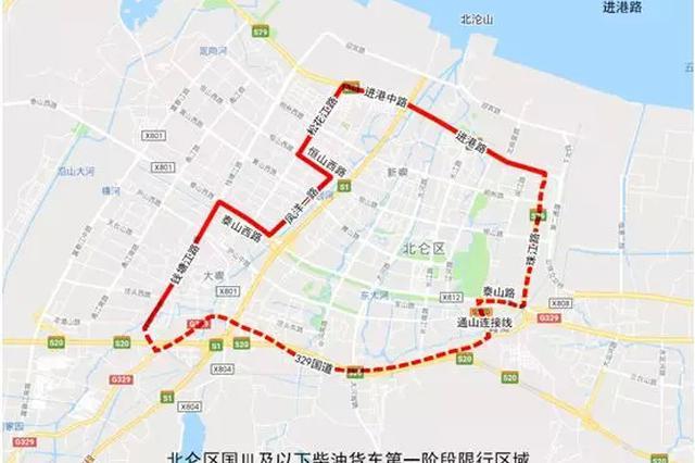 北仑区人民政府实施国Ⅲ及以下柴油货车区域禁行通告
