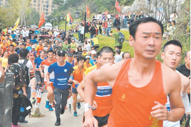 宁波市首届全民运动会登山总决赛在宁海落下帷幕