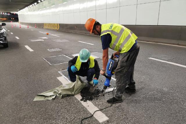 宁波夏禹路隧道将全封道路面整修 时间为18日至19晚