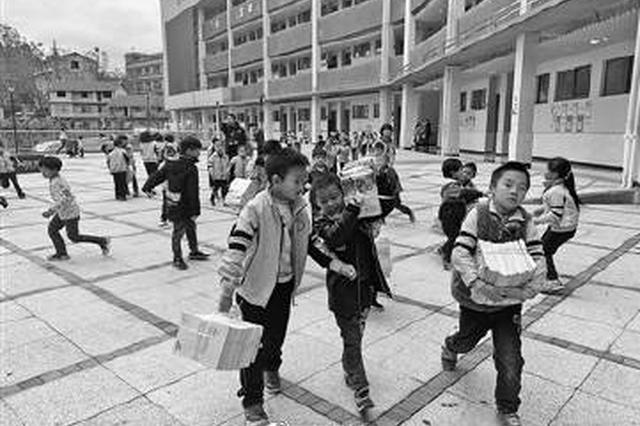 2200套绘本故事从宁海送到晴隆 圆孩子一个阅读梦