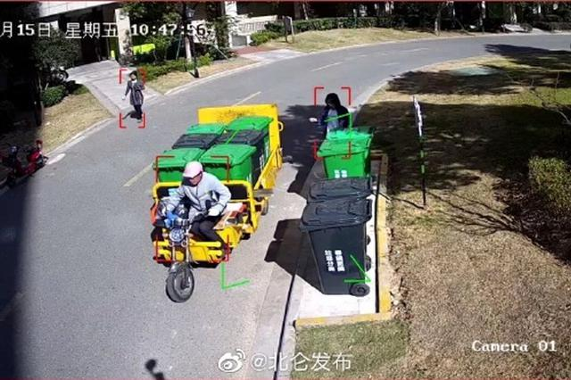 北仑引入垃圾分类黑科技 智能监控替代人工桶边督导