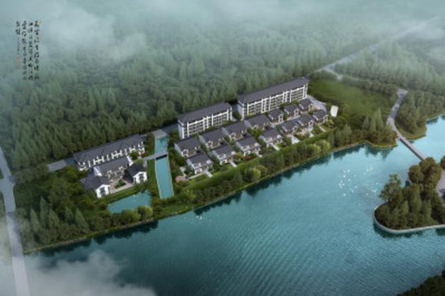 江北灵山设立旅游服务中心建筑设计方案在批前公示期