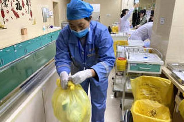 海曙二院智慧医疗废物回收上线 医疗废物有了身份证