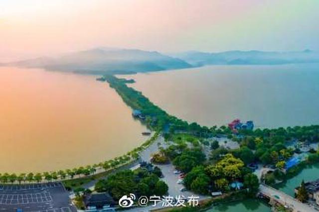 东钱湖小普陀12月起免费对外开放 钱湖冬景值得一看