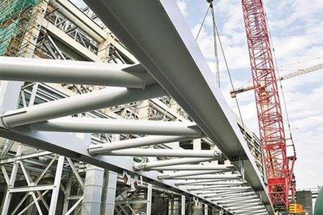 镇海电厂迁建项目主体建设完成