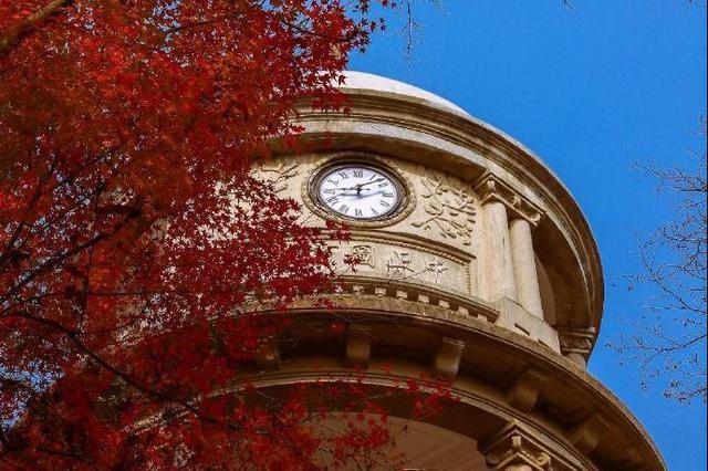 奉化中山公园迎来最美季节 余秋雨曾在此居住苦读